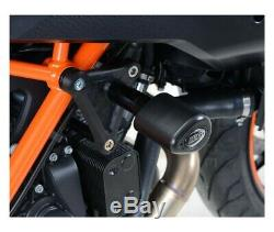 Ktm 1290 Superduke Gt-16/17 Protections Tampons R&g- Cp0408bl