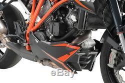 Ktm 1290 Superduke Gt 2016 Sabot Moteur Puig Carbone Look Spoiler