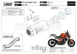 MIVV Kit Pot D'echappement Hom Et Nocat Mk3 Acier Ktm 1290 Superduke 2015 15