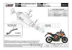MIVV Pot D Echappement Hom Delta Race Carbon Cap Ktm 1290 Superduke Gt 2020 20