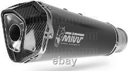 MIVV Pot D Echappement Hom Delta Race Noir CC Ktm 1290 Superduke Gt 2018 18