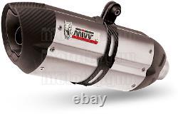 MIVV Pot D Echappement Hom Suono Carbon Cap Ktm 1290 Superduke Gt 2017 17