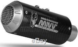 MIVV Pot D'echappement Approuve Mk3 Carbon Ktm 1290 Superduke 2014 14 2015 15