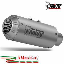 Mivv Ktm 1290 Superduke 2015 Pot D' Echappement Moto Exhaust Silencieux Mk3 Inox