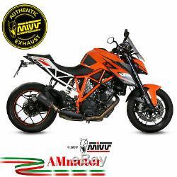 Mivv Ktm 1290 Superduke 2017 17 Pot D' Echappement Moto Silencieux Mk3 Carbone
