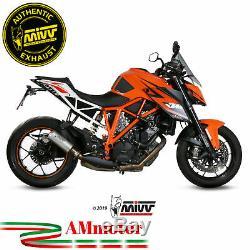 Mivv Ktm 1290 Superduke 2019 Pot D' Echappement Moto Exhaust Silencieux Mk3 Inox