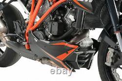 PUIG Coquille KTM 1290 Superduke R-Drain Akrapovic 2017 Noir Mat