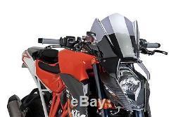 PUIG Pare-brise Naked New Generation FUMÉE KTM SUPERDUKE 1290 R (2014-2015)