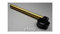 Paire Bracelets Demi Guidons Inclinables Or 48 mm KTM SUPERDUKE 990 2005-2013