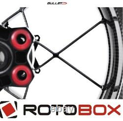 Paire Roues Carbone Poli ROTOBOX Bullet 17 X3.5/6 KTM 990 R Superduke