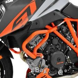 Pare Carter KTM 1290 Super Duke GT 16-18 orange Protège Moteur