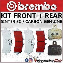 Plaquettes De Frein Brembo Sc Avant+ Arriere Ktm Super Duke R Abs 1290 2015