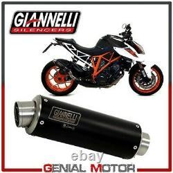 Pot D Echappement Giannelli X-Pro Inox Noir pour KTM 1290 Super Duke R 2019 19