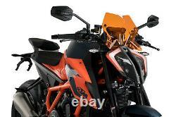 Puig Cupolino Naked N. G. Sport Ktm 1290 Superduke R 2020 Arancione