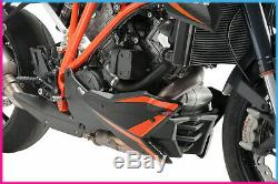 Puig Sabot Moteur Ktm 1290 Superduke Gt 2017 Noir Mat