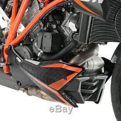 Puig Sabot Moteur Ktm 1290 Superduke R-echappement Akrapovic 2015 Carbon Look