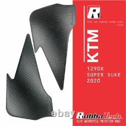RUBBATECH Ak Carbone Genou Coussinets Pour KTM Super Duke 1290R 2020 Modèles