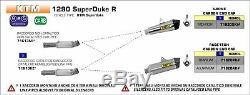 Raccord Arrow Pour Ktm 1290 Superduke R 2014 2016 Matiére Du Corps Acier Inox