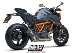 SC-Project SC1-R slip-on Carbon exhaust KTM 1290 Superduke R 2020
