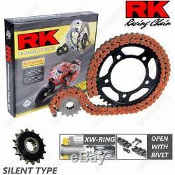 SET TRANSMISSION SILENT RK 525GXW17-38ORR KTM 1290 Super Duke R 2014-2018