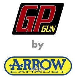SILENCIEUX GP GUN by ARROW ACIER KTM 1290 SUPERDUKE R 2014 14 2015 15 2016 16