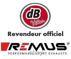 SILENCIEUX REMUS HYPERCONE INOX NOIR e4 KTM 1290 SUPER DUKE GT 2016/17/18