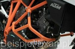 SW-MO 72045121 Crash bar Black. Compatible avec KTM 1290 Super Duke R GT. SET