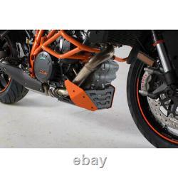 Sabot moteur urbain Orange/Noir. KTM 1290 Super Duke R / GT