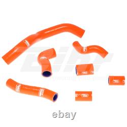 Samco Set Manchon Tuyaux Radiateur Orange KTM Super Duke 990 2005-2013