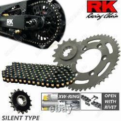 Set Transmission Silent RK 525ZXW17-38BKR KTM 1290 Super Duke Gt 2016-2018