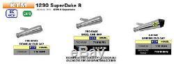 Silencieux Arrow Pro-race Titane Ktm 1290 Superduke R 2020 71916pr