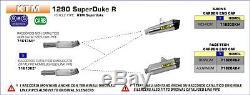 Silencieux Arrow Race-tech Titane Ktm 1290 Superduke R 2014/15/16 71820pk