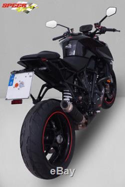 Silencieux Bodis Gp1-rsn Inox Noir Ktm 1290 Superduke R 2017/18 Ktsd1290-018