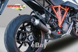 Silencieux Bodis Gp1-rsn Inox Noir Ktm Superduke 1290 Gt 2016- Ref Ktsd1290-018