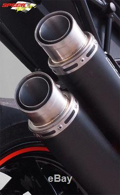 Silencieux Bodis Gpx2 Inox Noir Ktm 1290 Superduke R 2017/18 Ktsd1290-019