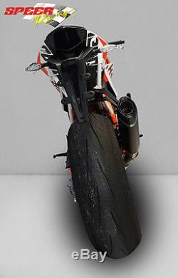 Silencieux Bodis P-tec II Inox Noir Ktm 1290 Superduke R 2014/15/16 Ktsd1290-006