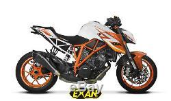Silencieux Exan X-black Evo Inox Noir Ktm 1290 Superduke 2015/17 Xktm08-00-xei