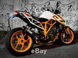 Silencieux Exan X-black Ovale Carbone Ktm 1290 Superduke 2015/17 Xktm08-00-xoc
