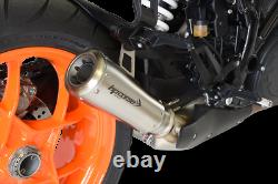 Silencieux HP Corse Gp07 Satin Ktm Superduke 1290 R 2014 / 2015 / 2016