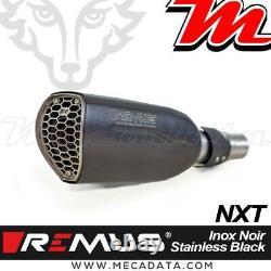 Silencieux REMUS NXT Inox noir RACE KTM 1290 Super Duke R Euro5 2021