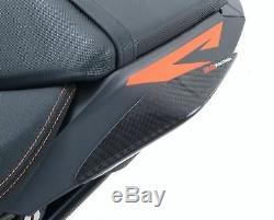 Sliders de coque arriere r&g racing carbone ktm 1290 super duke