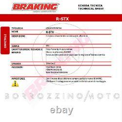 Stx144 Kit 2 Disques De Frein Avant Braking Ktm Super Duke R Abs 1290 2014-2020