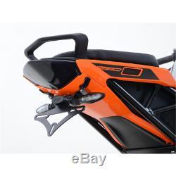 Support de plaque noir ktm 1290 super duke gt R&g racing LP0202BK