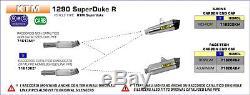 Supprime-catalyseur Arrow Ktm 1290 Superduke R 2014/15/16 71613mi