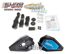 Tampons Protection RD Moto KTM 1290 Super Duke 2014-2016 Noir Neuf KTM6S-SL01-K