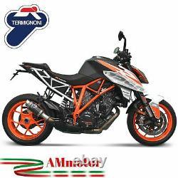 Termignoni Ktm Super Duke 1290 R 2017 Pot D' Echappement Moto Exhaust Gp Carbone