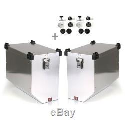 Valises Latérales alu 2x41l + kit 18mm pour KTM 1290 Super Duke GT/ R