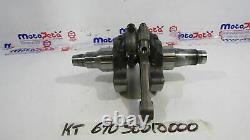 Vilebrequin+Bielles Crankshaft+Piston Rods KTM Super Duke 990 05 07