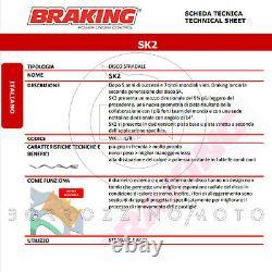 Wk144l/r Disques De Frein Avant Braking Sk2 Ktm Super Duke R Abs 1290 2014-2020